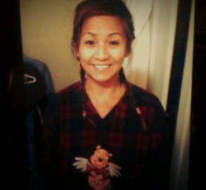 Looking like an Asian version of Wendy ; my mother, ladies and gentlemen.